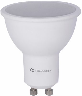 Лампа светодиодная полусфера Наносвет LE-MR16A-D-8 L240 GU10 8W 2700K лампа светодиодная диммируемая gu10 8w 4000k полусфера прозрачная lh mr16 d 8 gu10 840 l243
