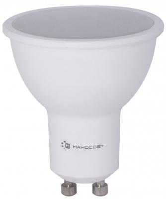 Лампа светодиодная диммируемая GU10 8W 4000K полусфера матовая LE-MR16A-D-8/GU10/840 L241