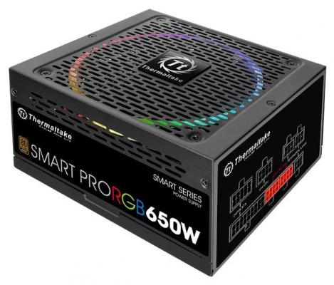 все цены на БП ATX 650 Вт Thermaltake Smart Pro RGB PS-SPR-0650FPCBEU-R онлайн