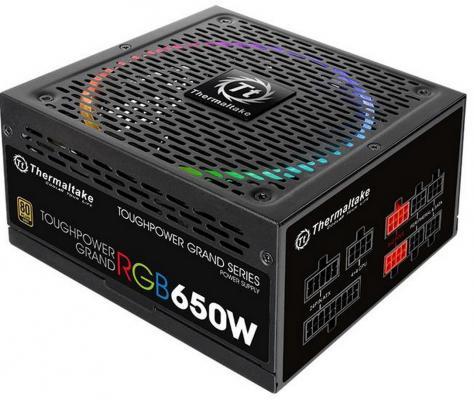 все цены на БП ATX 650 Вт Thermaltake Toughpower Grand RGB PS-TPG-0650FPCGEU-R онлайн