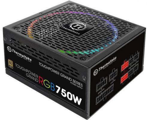 БП ATX 750 Вт Thermaltake Toughpower Grand RGB бп atx 500 вт thermaltake smart rgb 500w