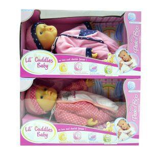 Купить Пупс Shantou Gepai Cuddles Baby 30 см мягкая 15225, пластик, текстиль, Мягконабивные куклы