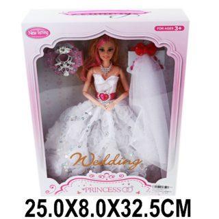"""Кукла Shantou Gepai """"Невеста"""" 29 см шарнирная недорого"""