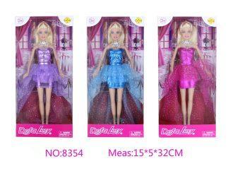 Кукла DEFA LUCY Дефа Люси - Первый бал ассортимент, 8354 кукла defa lucy модная green