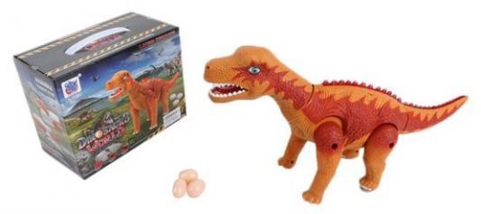 Купить Интерактивная игрушка Shantou Gepai Динозавр от 3 лет коричневый, пластик, унисекс, Интерактивные животные и роботы