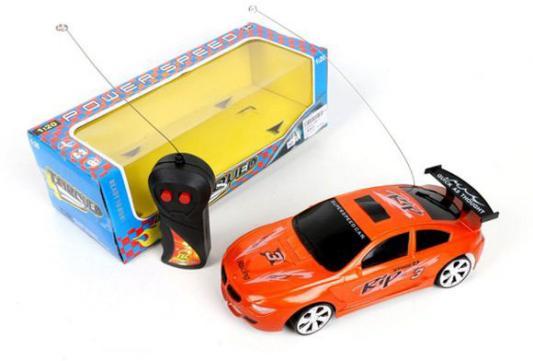 Машинка на радиоуправлении Shantou Gepai 588-4 пластик от 3 лет оранжевый кровать машина бмв 70х160