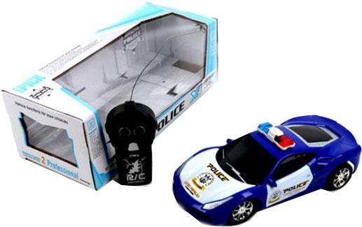 Машинка на радиоуправлении Shantou Gepai Полиция 999-1 пластик от 4 лет разноцветный
