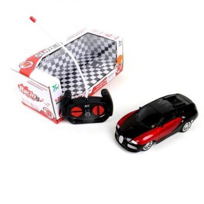 Машинка на радиоуправлении Shantou Gepai 6927715706499 пластик от 3 лет черно-красный