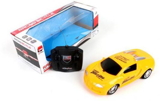 Машинка на радиоуправлении Shantou Gepai 633-22 пластик от 6 лет желтый
