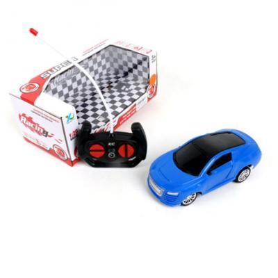 Машинка на радиоуправлении Shantou Gepai 6927715706482 пластик от 3 лет синий