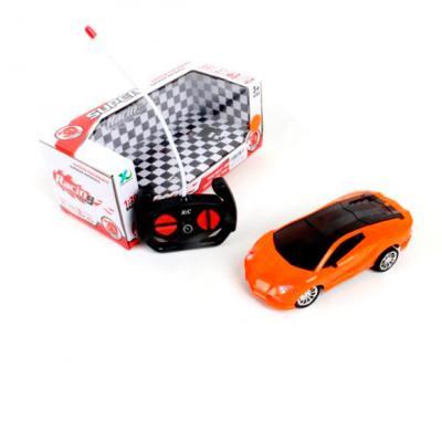 Машинка на радиоуправлении Shantou Gepai 6927715706468 пластик от 3 лет оранжевый
