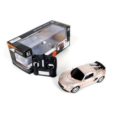 Машинка на радиоуправлении Shantou Gepai 6927715531725 пластик от 8 лет золотистый