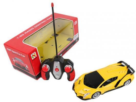 Машинка на радиоуправлении Shantou Gepai 565-X3 пластик от 6 лет желтый