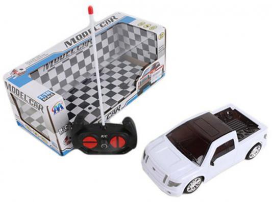 """Машинка на радиоуправлении Shantou Gepai """"Джип"""" - Пикап пластик от 6 лет белый 4 канала, 3D свет, 1:18, 321-1"""