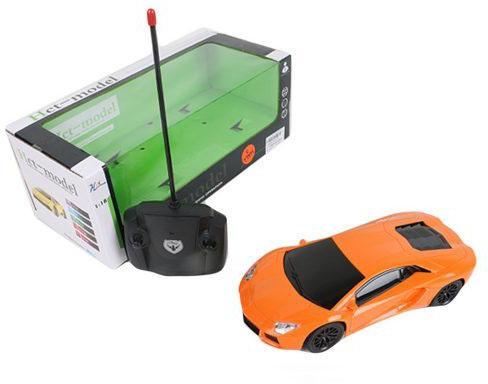 Машинка на радиоуправлении Shantou Gepai 822-36 пластик от 3 лет оранжевый