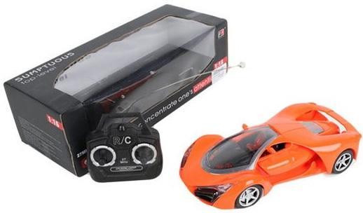 Машинка на радиоуправлении Shantou Gepai Sumptuous пластик от 3 лет оранжевый