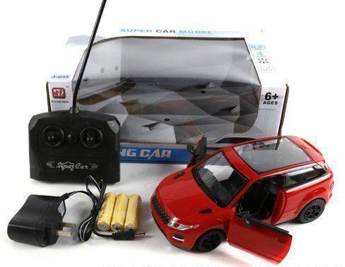 Машинка на радиоуправлении Shantou Gepai 896 пластик от 6 лет красный