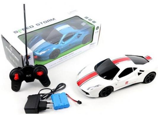 Машинка на радиоуправлении Shantou Gepai Скорость шторма, 4 канала, свет, аккум., эл.пит.не вх.в комплект, в ассортименте