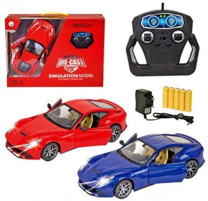 Машинка на радиоуправлении Shantou Gepai JT0137 пластик от 4 лет цвет в ассортименте в ассортименте weise toys 1 32 scale die cast metal model fendt favorit 926 vario