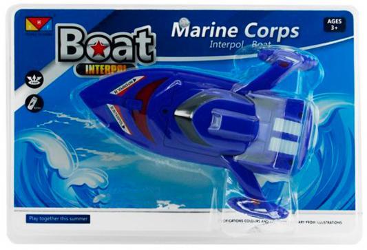 Катер Shantou Gepai Boat Interpol - Marine Corps синий 311-88