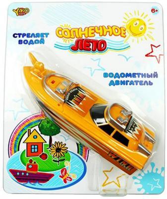 """Катер Shantou Gepai """"Солнечное лето"""", с брандспойнтом оранжевый 24 см M6497"""