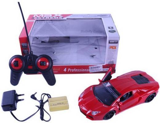 Машинка на радиоуправлении Shantou Gepai Супер скорость пластик от 3 лет красный