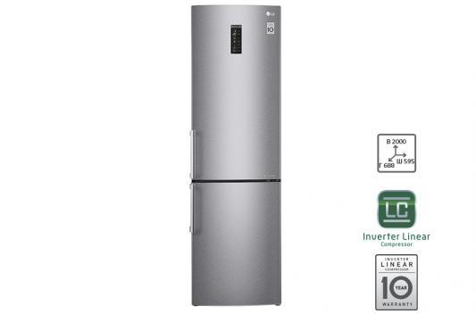 Холодильник LG GA-B499YMQZ серебристый led панели lg 32se3b b