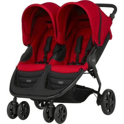 Прогулочная коляска для двоих детей Britax B-Agile Double (flame red) прогулочные коляски britax b agile 4