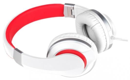Наушники Deppa Prime Line 4012 белый красный внешний аккумулятор deppa prime line 8000mah 2 5a белый 3351
