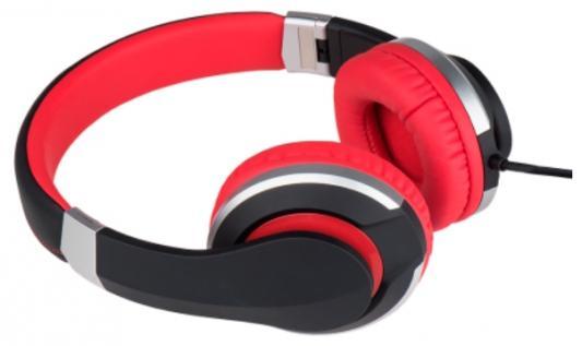 Наушники Deppa Prime Line 4011 черный красный внешний аккумулятор deppa prime line 8000mah 2 5a белый 3351