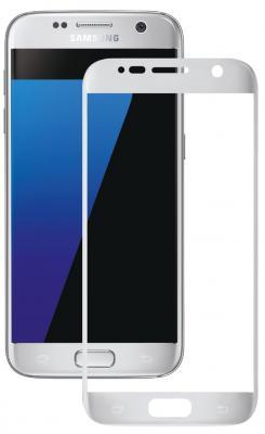 Защитное стекло Deppa 3D для Samsung Galaxy S7 0.3 мм серебристый 62002