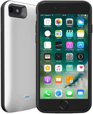 Чехол-аккумулятор Deppa NRG Case 2600 mAh для iPhone 7 белый 33520 чехол аккумулятор deppa nrg case для iphone 7 plus белый