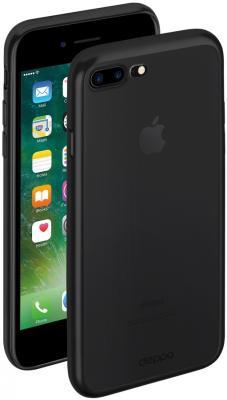 Накладка Deppa Gel Plus Case для iPhone 7 Plus матовый чёрный 85286