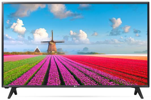 Телевизор LG 32LJ500V черный