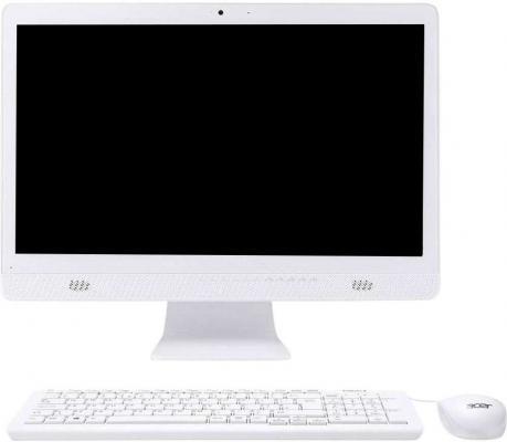 "Моноблок Acer Aspire C20-720 19.5"" HD+ Cel J3060/4Gb/500Gb/HDG/DVDRW/CR/Windows 10/GbitEth/WiFi/BT/клавиатура/мышь/Cam/белый"