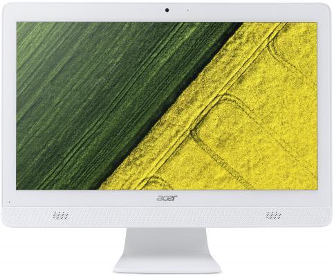 "Моноблок 19.5"" Acer Aspire C20-720 1600 x 900 Intel Pentium-J3710 4Gb 500Gb Intel HD Graphics 405 Windows 10 белый DQ.B6ZER.008"