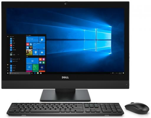 "Моноблок 23.8"" DELL Optiplex 7450 3840 x 2160 Touch screen Intel Core i7-7700 16Gb SSD 512 Radeon R7 M465X 2048 Мб Windows 10 Professional черный 7450-3525"