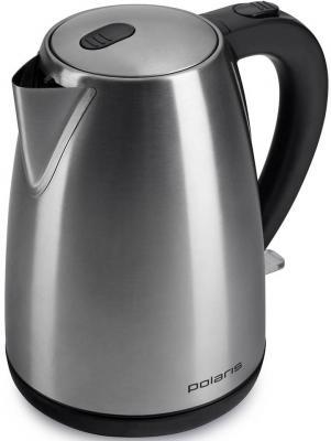 Чайник Polaris PWK 1707CA 2200 Вт серебристый 1.7 л нержавеющая сталь чайник нержавейка polaris pwk 1707ca
