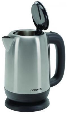 Чайник Polaris PWK 1793CA 2200 Вт серебристый 1.7 л нержавеющая сталь чайник polaris pwk 1754 clwr 2200 вт 1 7 л пластик белый синий