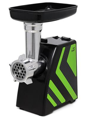 Электромясорубка KITFORT KT-2101-2 1500 Вт зеленый чёрный