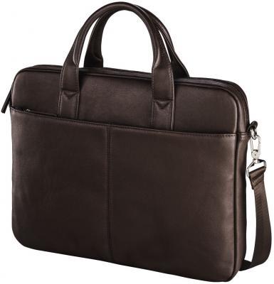 Сумка для ноутбука 15.6 HAMA Santorin полиуретан коричневый 00101563