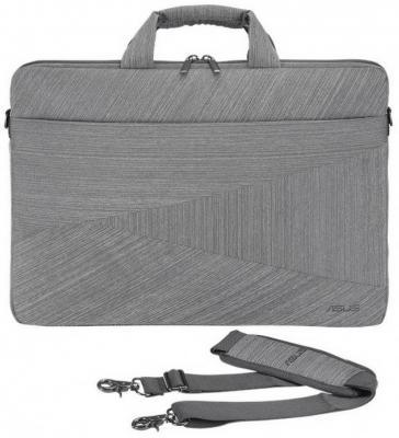 Сумка для ноутбука 15 ASUS ARTEMIS BC250 полиэстер серый