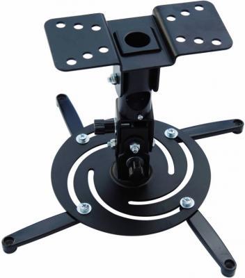 Фото - Кронштейн для проектора Cactus CS-VM-PR04-BK черный макс.10кг настенный и потолочный поворот и наклон кронштейн