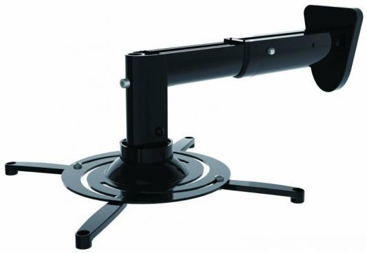 Фото - Кронштейн для проектора Cactus CS-VM-PR05B-BK черный макс.10кг настенный и потолочный поворот и наклон кронштейн