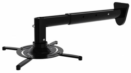 Фото - Кронштейн для проектора Cactus CS-VM-PR05BL-BK черный макс.10кг настенный и потолочный поворот и наклон кронштейн