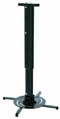 Кронштейн для проектора Cactus CS-VM-PR05L-BK черный макс.10кг настенный и потолочный поворот и наклон