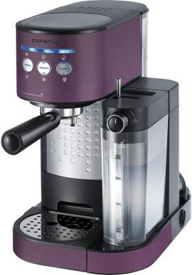 Кофеварка Polaris PCM 1525E Adore Cappuccino фиолетовый кофеварка polaris pcm 0210 450 вт черный