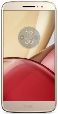 Смартфон Motorola Moto M золотистый 5.5 32 Гб LTE Wi-Fi GPS 3G XT1663  PA5D0072RU смартфон motorola moto e синий 5 16 гб lte wi fi gps 3g xt1762 pa750050ru