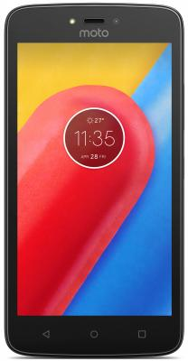 Смартфон Motorola Moto C черный 5 16 Гб LTE Wi-Fi GPS 3G XT1754  PA6L0083RU смартфон elephone s7 черный 5 5 64 гб lte wi fi gps 3g s7 4gb 64gb black