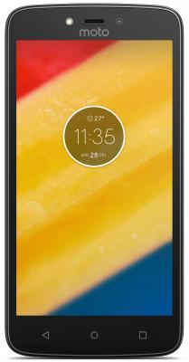 Смартфон Motorola Moto C Plus черный 5 16 Гб LTE Wi-Fi GPS 3G XT1723 PA800111RU смартфон zte blade v8 золотистый 5 2 32 гб lte wi fi gps 3g bladev8gold